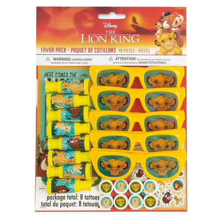 Lion Party Supplies (The Lion King Party Favors for 8,)