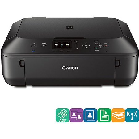 Canon Pixma Mg5522 Multifunction Printer Color Walmartcom