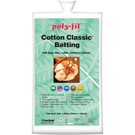 Organic Cotton Classic Batting - Walmart.com : organic quilt batting - Adamdwight.com