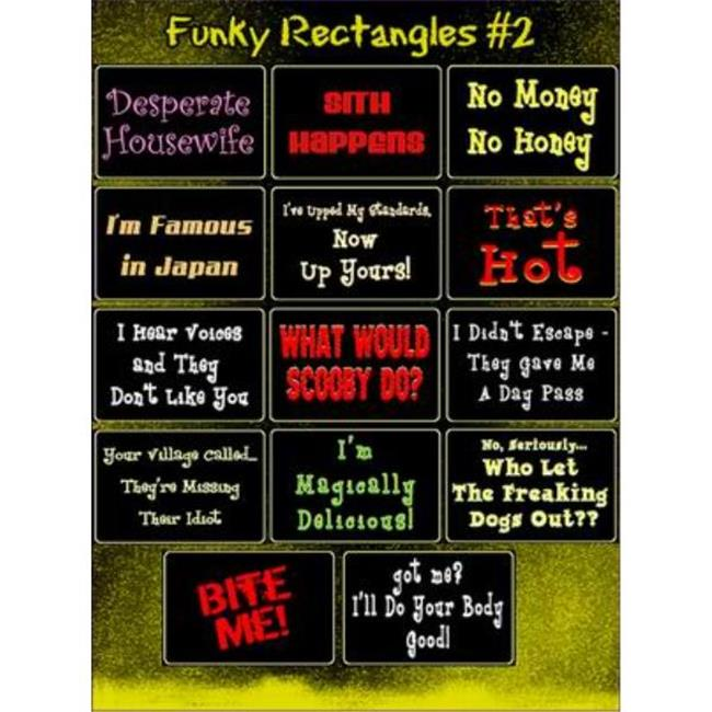 Bulk Buys Assorted Funny Novelty Stickers - Case of 144