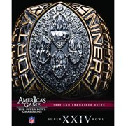 NFL America's Game: 1989 49Ers (Super Bowl Xxiv) by