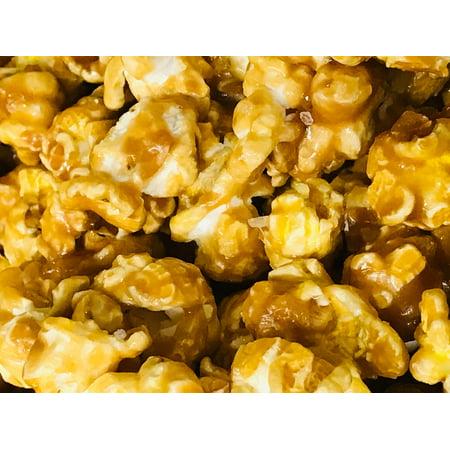 Gourmet Sea Salt Caramel Popcorn 8 oz Bag by Damn Good Popcorn](Halloween Caramel Popcorn Recipe)