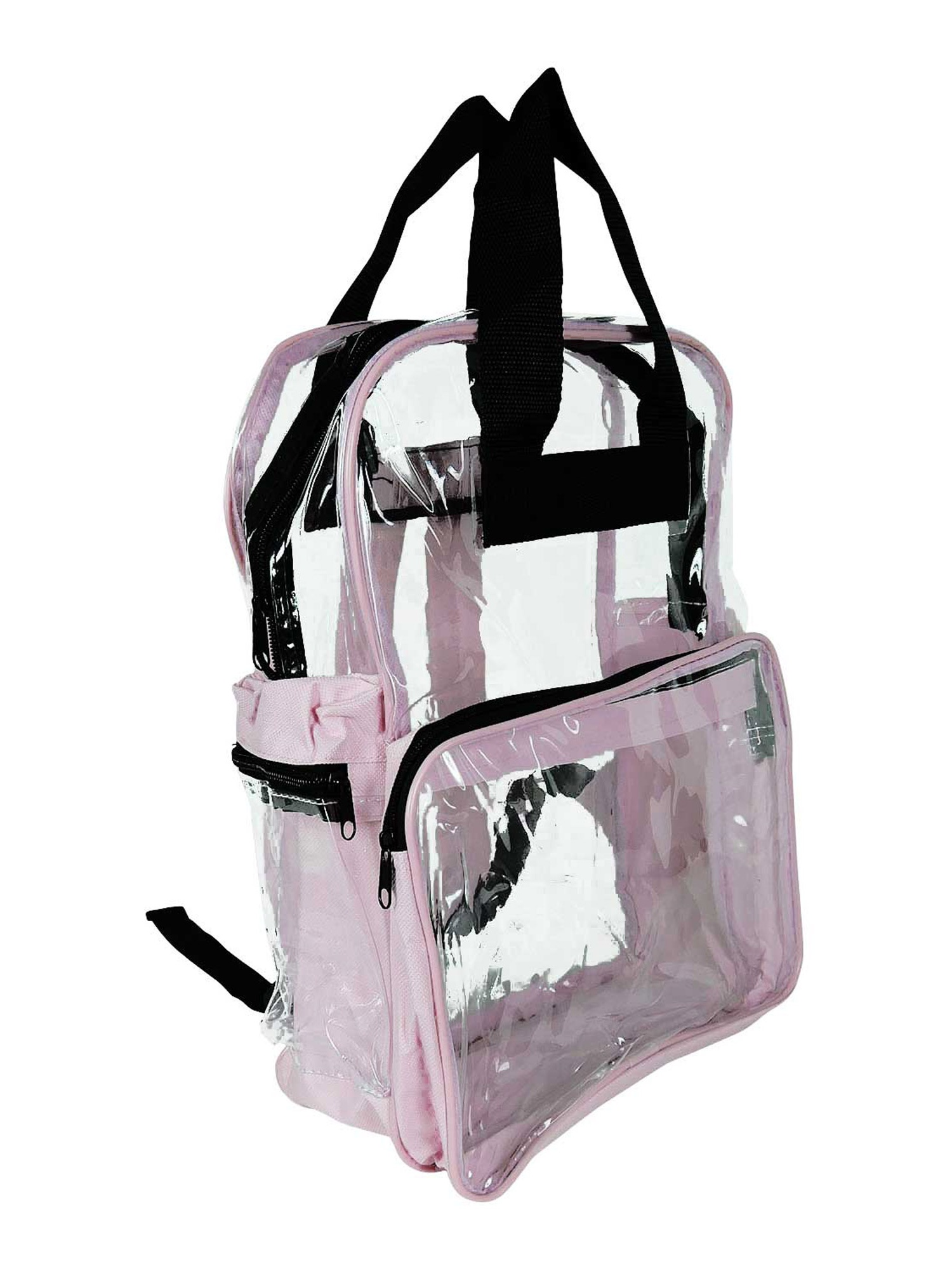 Small Clear Backpack Transparent PVC Security School Bag