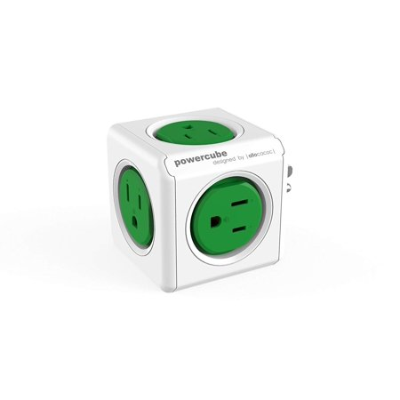 PowerCube Original Cable And Adapter By, Provides 5 Additional Outlets & Can Expand To More By Allocacoc