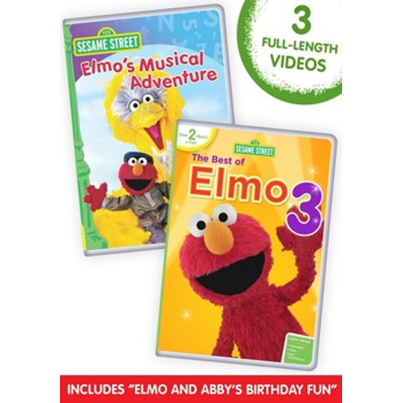 Sesame Street: The Best of Elmo 3 / Elmo's Musical Adventure