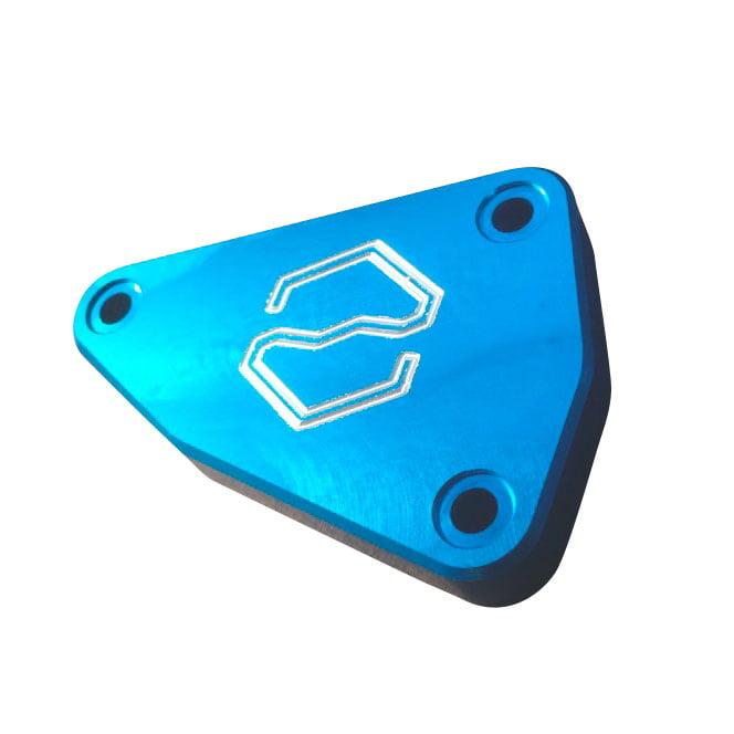ITEK Brake Fluid Reservoir Cover Cap OEM# 2602-429 Blue  #333572