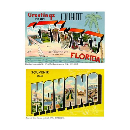 Greetings from Quaint Key West, C.1942 and Souvenir from Havana, 1937 Print Wall
