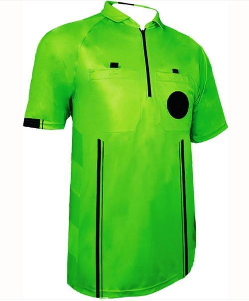 1 Stop Soccer New Men's Soccer Pro Referee Jersey Green by 1 Stop Soccer