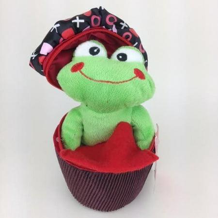 Frog In Cupcake Valentines Day Plush Gift Card Holder Walmart Com