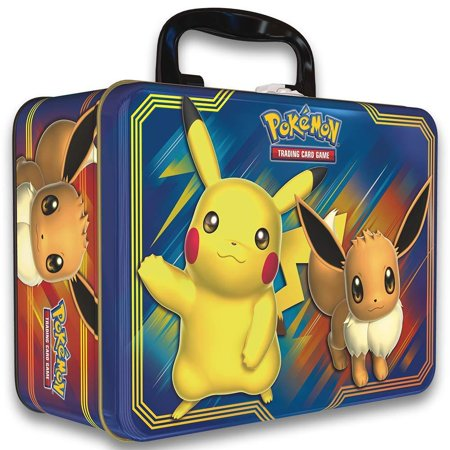 TCG: Fall 2018 Collector's Chest Tin Featuring Pikachu & Eevee, Tons of Pokemon goodies: includes a notepad, 4 pencils, 2 sticker sheets, and a.., By Pokemon