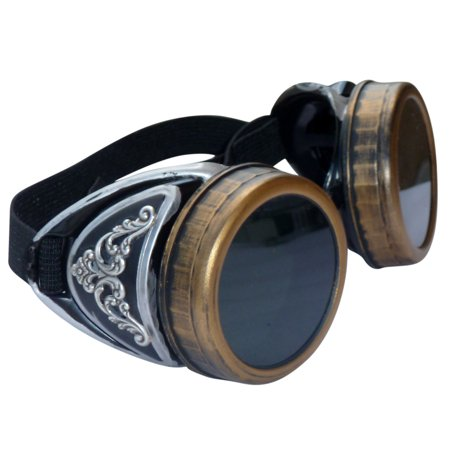 Steampunk GoggLes VicTORian Novelty Glasses cosplay Halloween costume accessory s3 by UmbrellaLaboratory - Novelty Goggles