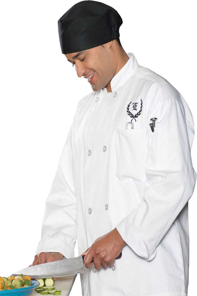 Edwards 3300 Long Unisex Chef Coat