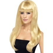 Babelicious Long Costume Wig Adult: Blonde