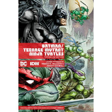 Batman/Teenage Mutant Ninja Turtles Deluxe (Secrets Of The Javascript Ninja Second Edition)