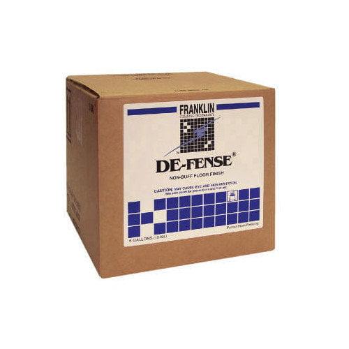Franklin Cleaning Technology De-fense Non-Buff Floor Finish Box