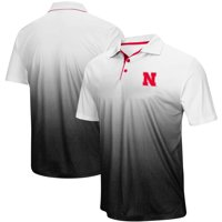 Nebraska Cornhuskers Colosseum Magic Team Logo Polo - Heathered Gray