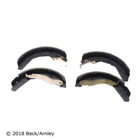 beck arnley 812099 beck/arnley 081-2099 drum brake shoe, rear