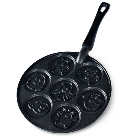 Nordic Ware Monster Pancake Pan Black Walmart Com