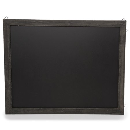 Wooden Chalkboard Display Sign for Wall - Medium Wide - Chalkboard Sign