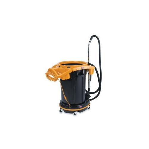 RUBBERMAID COMMERCIAL PROD. DVAC Vacuum, 28x14x39, Day/Green Cleaning, Yellow/Black