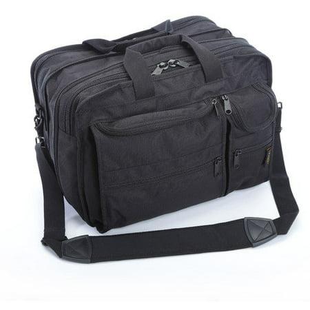 A. Saks Ballistic Nylon Expandable Briefcase