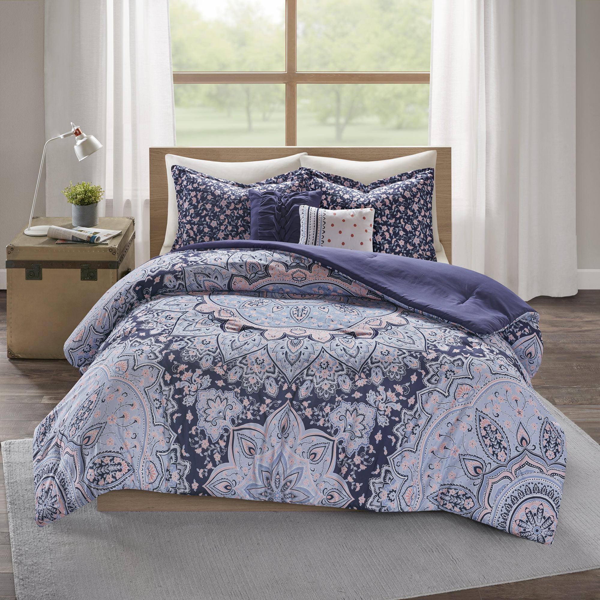 Home Essence Apartment Willow Super Soft Boho Comforter Bedding Set Walmart Com Walmart Com