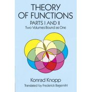 Theory of Functions, Parts I and II - eBook