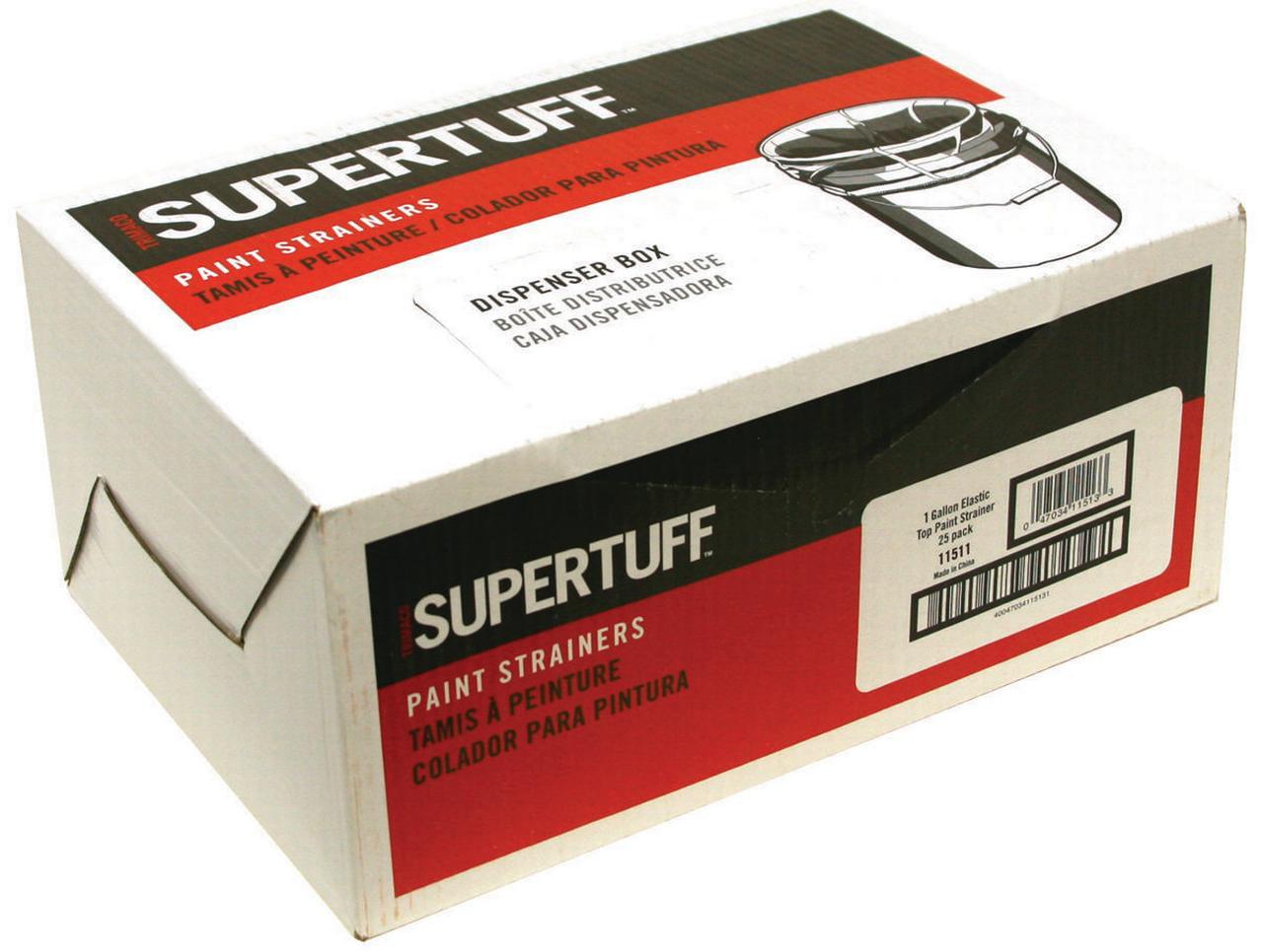 SUPERTUFF 31307ST Paint Strainer Bag,1//16 in H,PK25