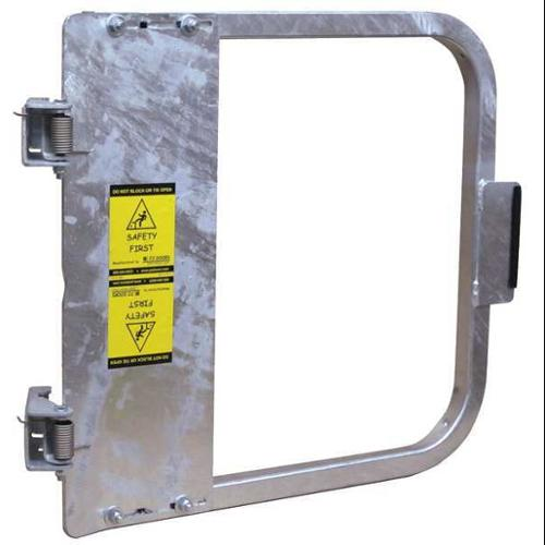PS DOORS LSG-33-GAL Safety Gate, 31-3 4 to 35-1 2 In, Steel by PS DOORS