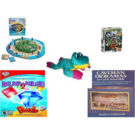 Bejeweled Frog - Children's Gift Bundle [5 Piece] -  Survivor  Outwit-Outplay-Outlast - Lego s Monster 4  - Good Stuff  Frog 14