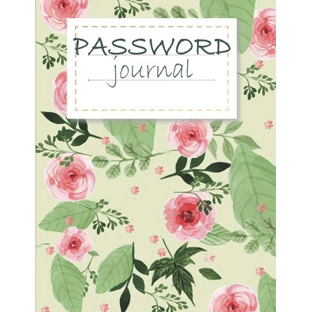 Password Journal : Modern Password Keeper, Vault, Notebook and Online Organizer, Password Log Book with Tabs Alphabetized, Large Print Password 120 Pages Large Print 8.5 X