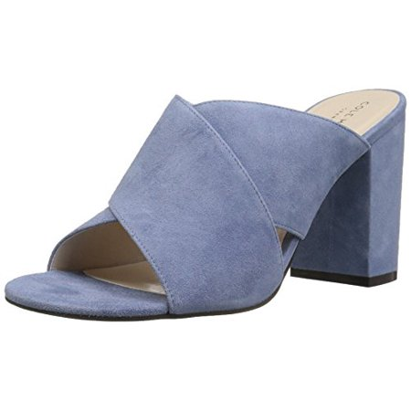 Cole Haan Suede Wedges (Cole Haan Women's Gabby Sandal, Cornwall Blue Suede, 9.5 B)
