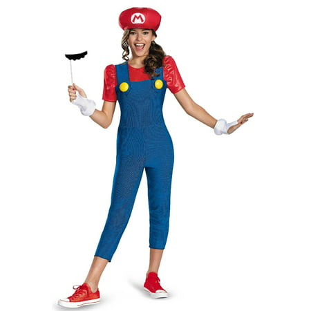 Mario Tween Costume for Girls