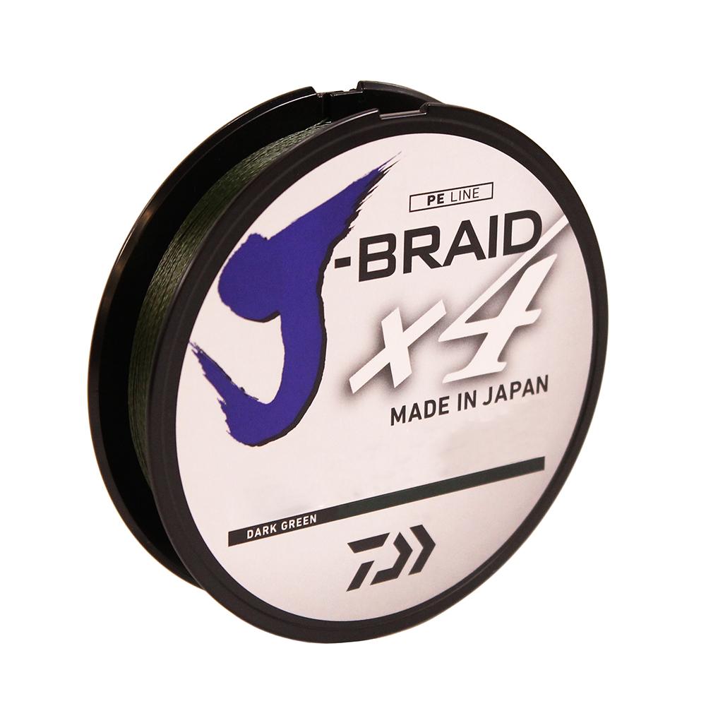 Daiwa J-Braid X4 300 Yard Spool 15LB Test Island Blue JB4U15-300IB