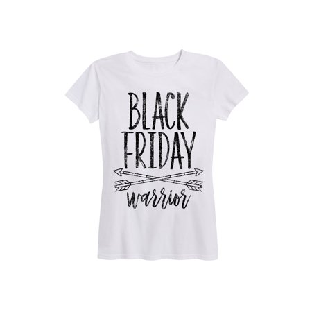 Black Friday Warrior - Women's Short Sleeve Graphic T-Shirt