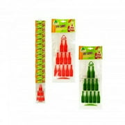 Set of 2 Jarritos Icy Cubez Novelty Bottle Shaped Ice Cube Trays Party Drink Fun