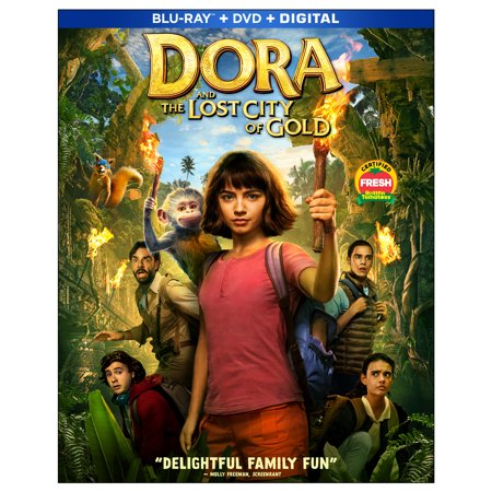 Dora and the Lost City of Gold (Blu-ray + DVD + Digital Copy) ()