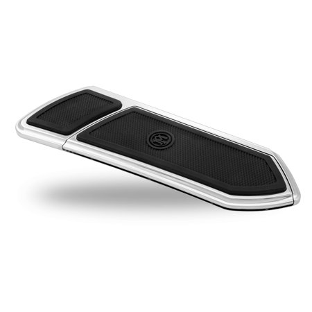 Performance Machine 0036-1008-CH Floorboard Assembly - Rider - FTZ Style - Chrome Finish