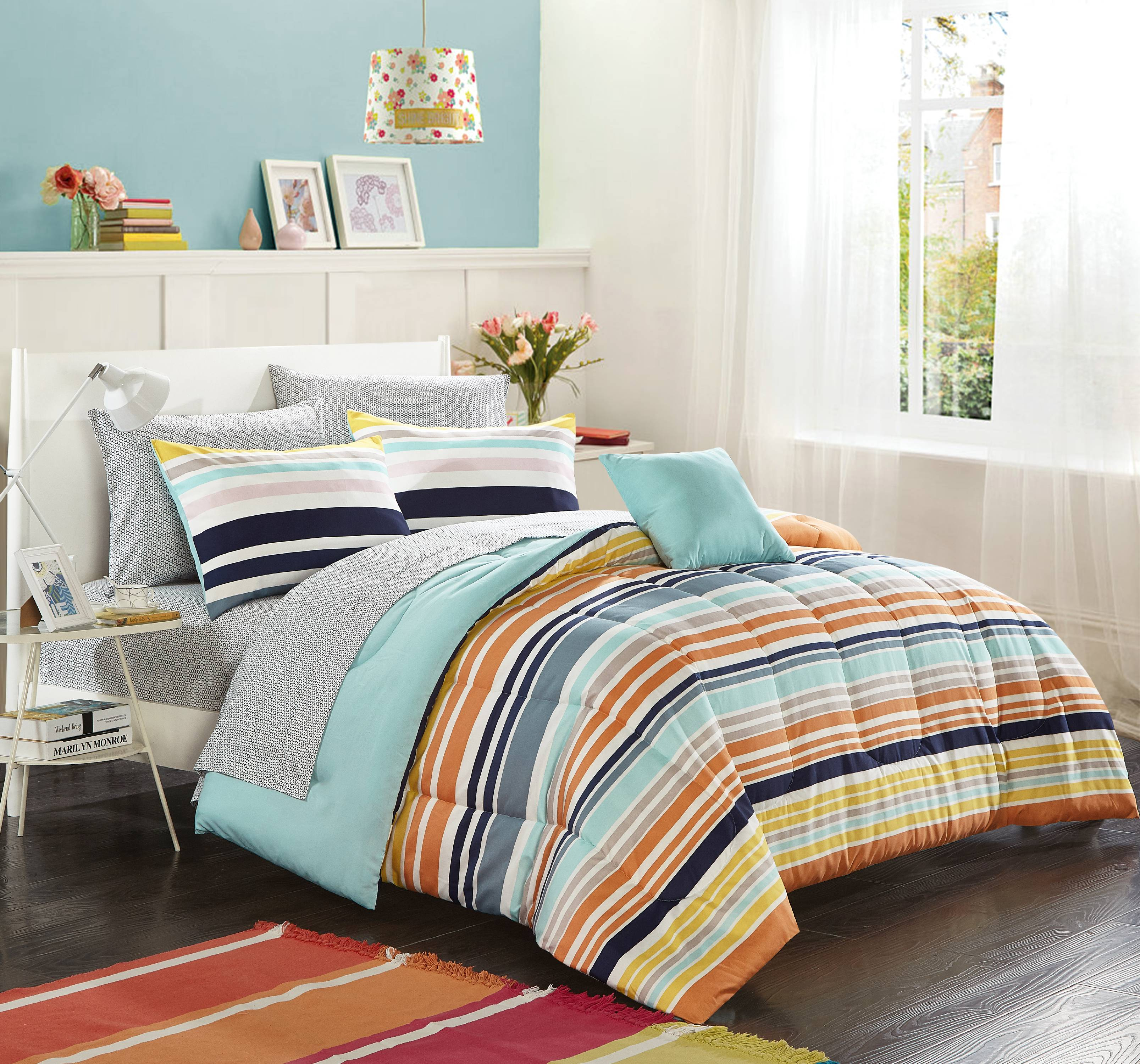 Mainstays courtney bed in a bag, Twin