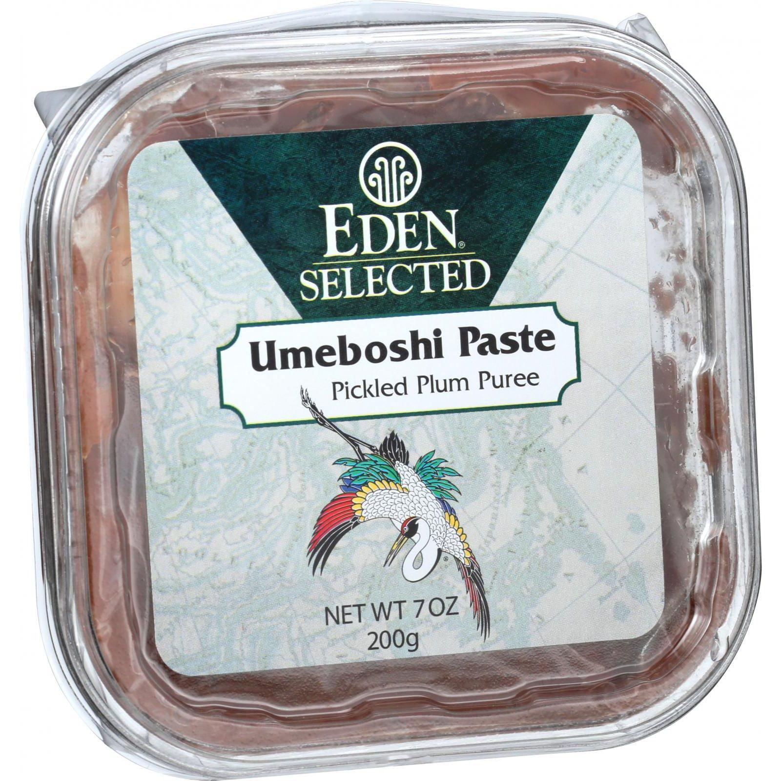 Eden Foods Umeboshi Paste - Pickled Plum Puree - 7.05 oz ...