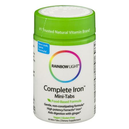 Rainbow Light Complete Iron™ Mini-Tabs 60 Tab ()