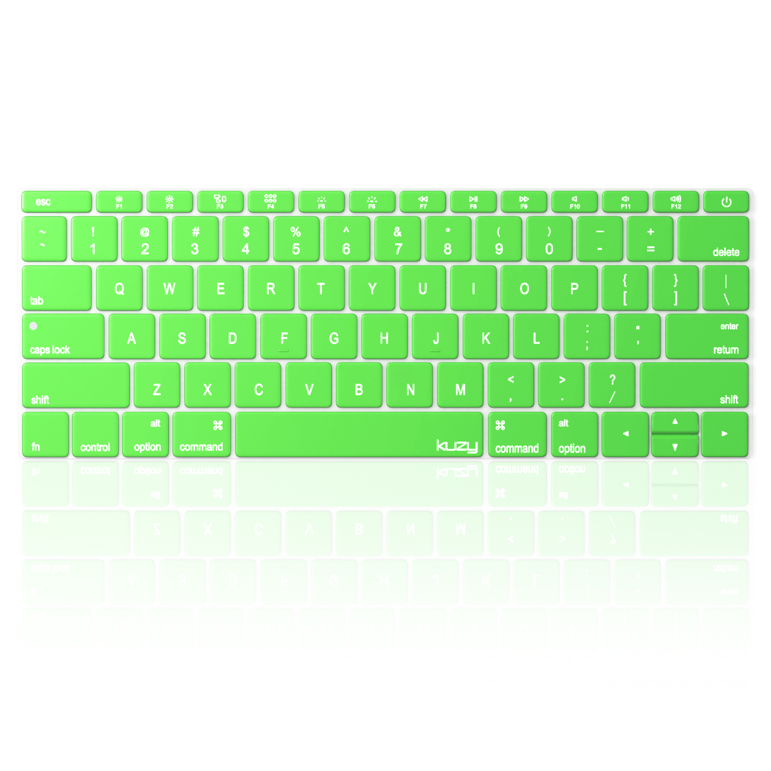 Kuzy - Keyboard Cover for MacBook Pro 13 inch A1708 (No TouchBar) Release 2016 & MacBook 12 inch A1534 NEWEST Silicone Skin