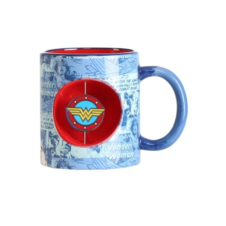 20 oz Spinner Wonder Woman Mug