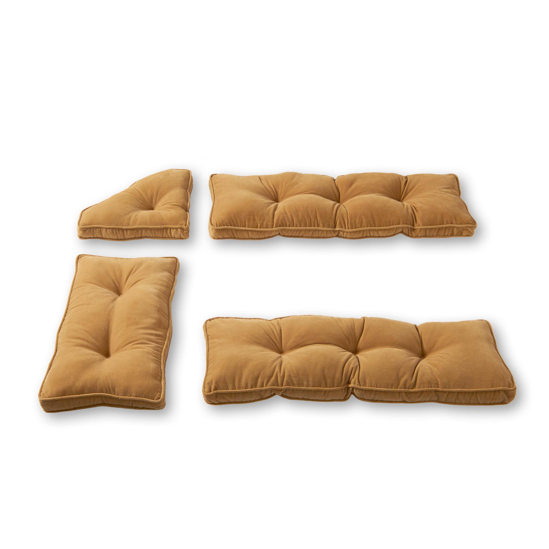 Greendale Home Fashions Cherokee 4-Piece Nook Cushion Set by Greendale Home Fashions