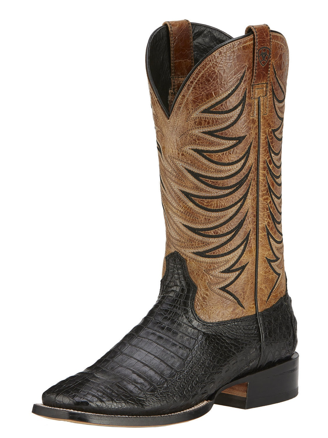 Ariat Fire Catcher Square Toe Leather Western Boot by Ariat