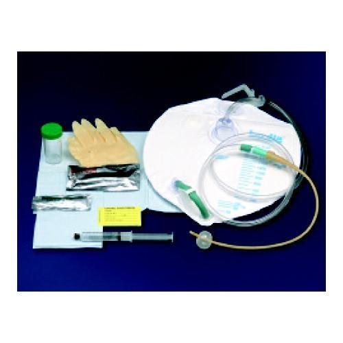 Bardia silicone-elastomer coated closed system foley tray 16 fr 5 cc part no. 802016 (1/ea)