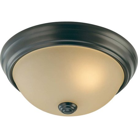 Volume Lighting Trinidad 2-Light Ceiling Fixture Flush Mount