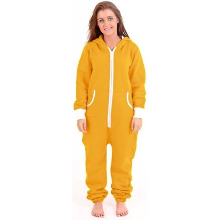 90f6a5003ff Skylinewears - SkylineWears Women s Onesie Playsuit Ladies Jumpsuit Yellow  Large - Walmart.com