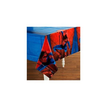 The Amazing Spider-Man Plastic Table Cover (1ct)](Plastic Spider Rings)