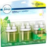Febreze NOTICEables Gain Scents Triple Oil Air Freshener Refills, .87 fl oz, 3 count